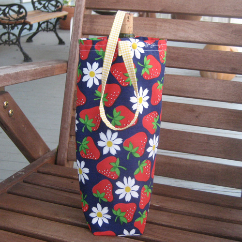 9 DIY Gift Wrapping Ideas: Basic Fabric Bag