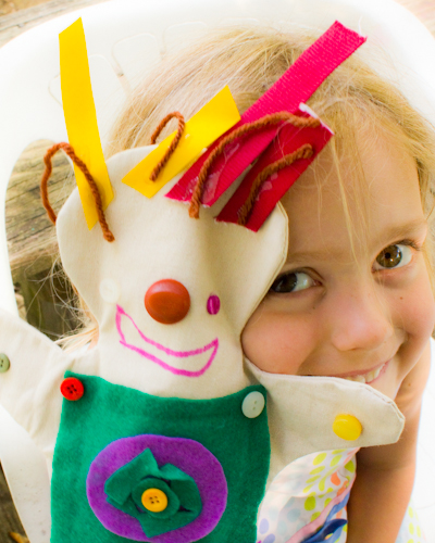 canvas puppet from Green Kid Crafts