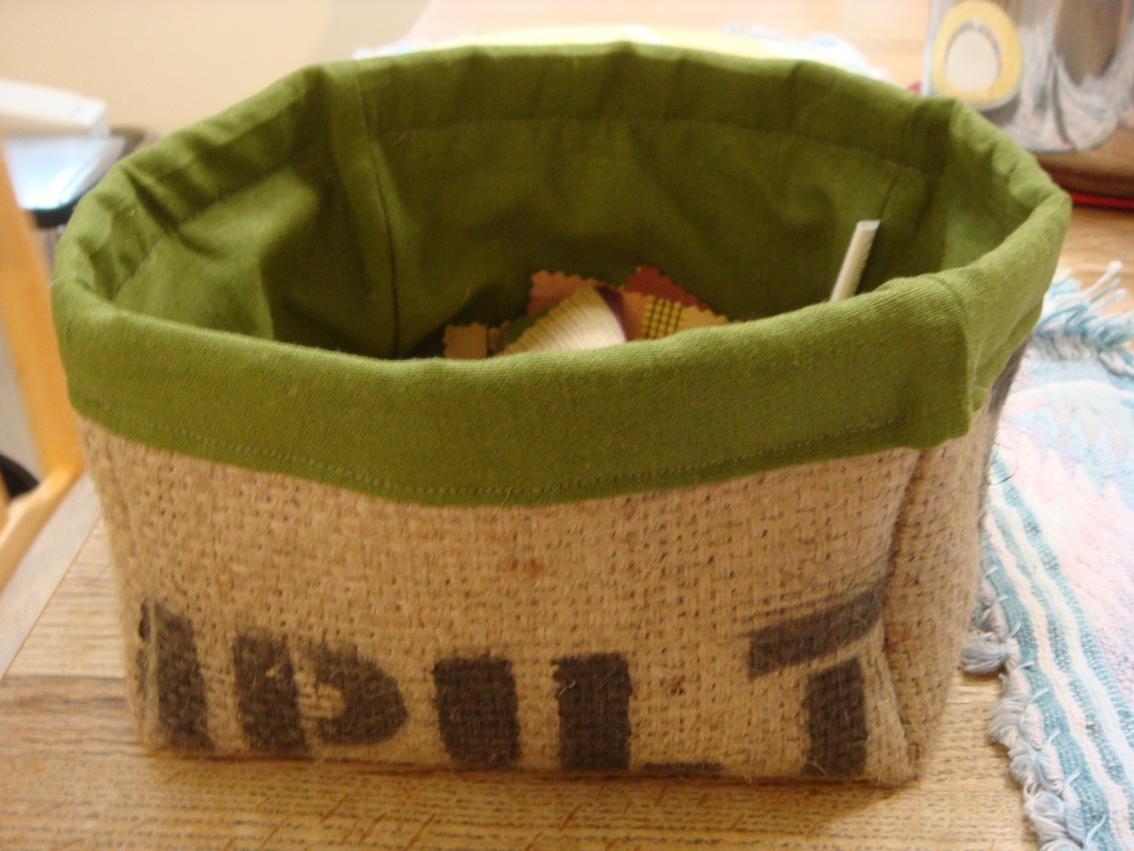 Burlap coffee bag crafts - 5 Awesome Ways To Repurpose A Burlap Coffee Sack Crafting A Green World