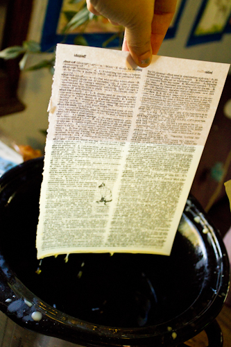 How to Make Beeswax-Coated Paper