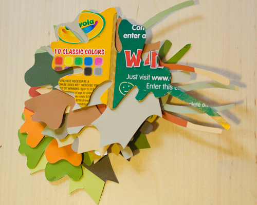 Autumn Craft: Leaf Garland