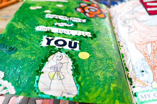 Upcycled Art Journals