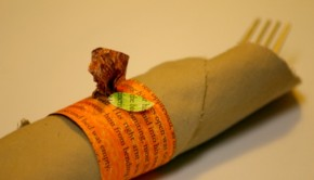 DIY Halloween Ideas: Pumpkin Napkin Ring