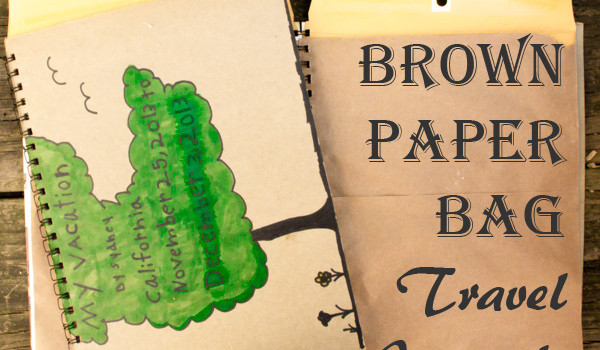 Brown Paper Bag Crafts: Upcycled Art Journals