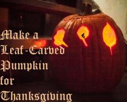 Thanksgiving Nature Crafts