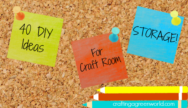 Is organizing your life on the list for this year? We've got an epic list of craft room ideas to keep your supplies in order all year long!