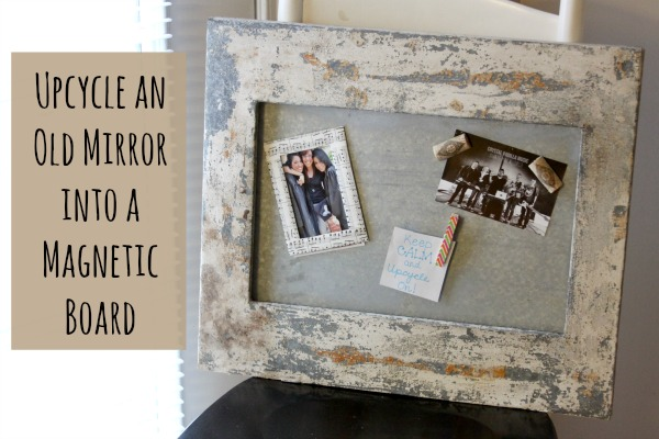 Reduce Reuse Redecorate Upcycle An Old Mirror Into A
