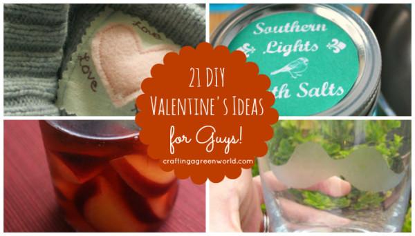 21 DIY Men's Valentine's Day Gifts