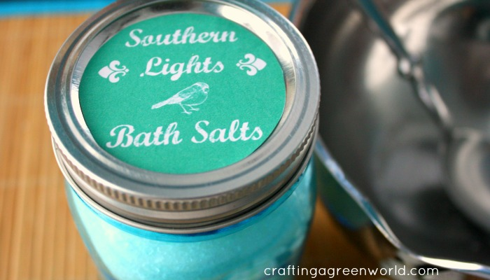 DIYI Valentine's Day Gifts: Bath Salts