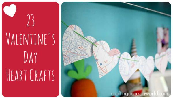 Valentines Day Ideas: Heart Crafts