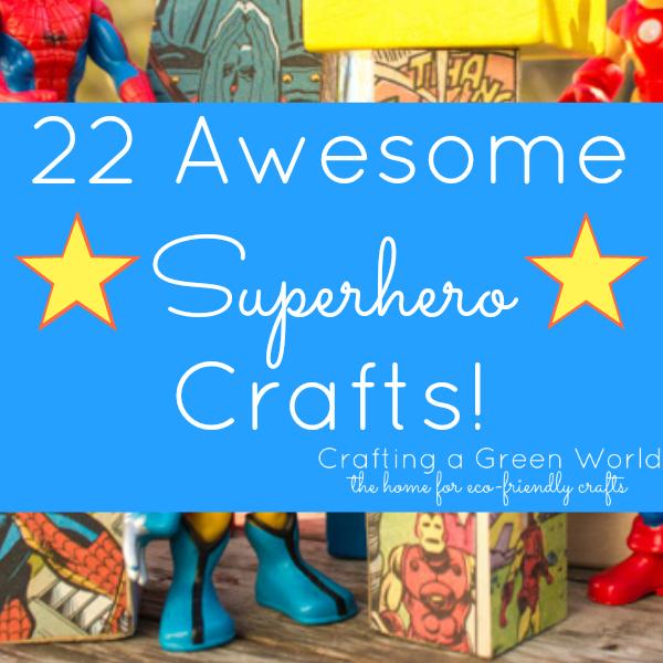 Superman Craft Ideas For Kids