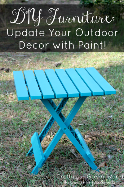 Diy Furniture Update Your Outdoor Decor With Paint
