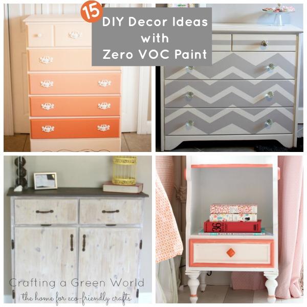 15 DIY Decor Ideas with Zero VOC Paint