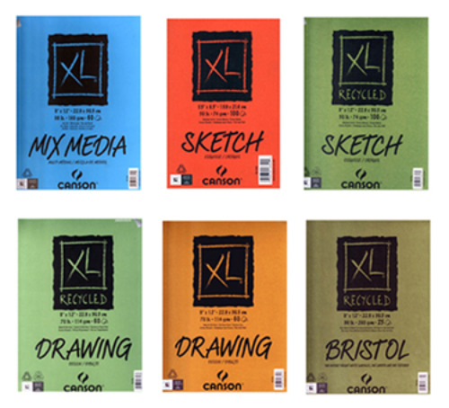 Review Of Canson S Xl Series Of Recycled Paper Art Pads