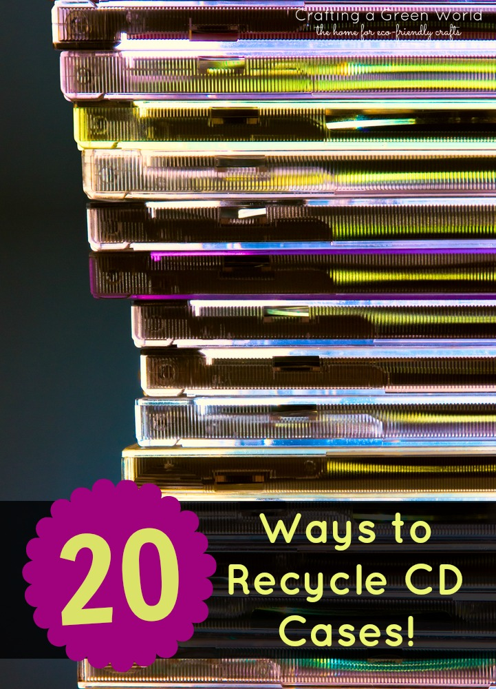 Diy Crafts 20 Ways To Recycle Cd Cases Crafting A