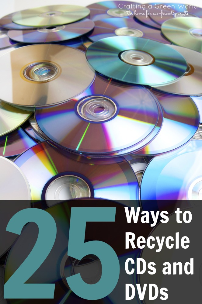 Diy crafts 25 ways to recycle cds and dvds crafting a for Best out of waste environment