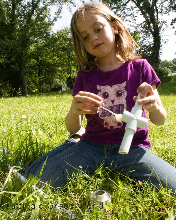Kid-Built PVC Pipe Sword