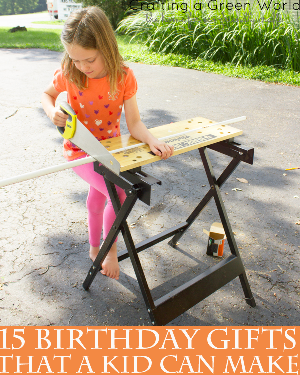 15 Birthday Gifts that Kids Can Make