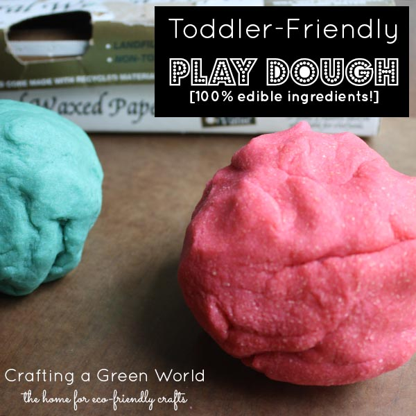Play Dough Recipe with all Edible Ingredients