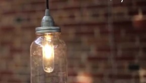 Make a DIY Pendant Light From a Mason Jar