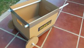 Cardboard Wheelbarrow and other Cardboard Toys