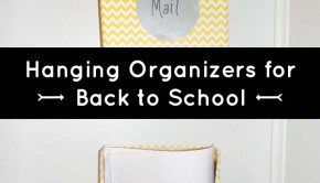 DIY Organization: Hanging File Folders