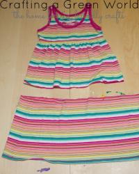 Repair a Knit Dress with a T-shirt