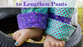 Sew Cuffs to Lengthen Pants