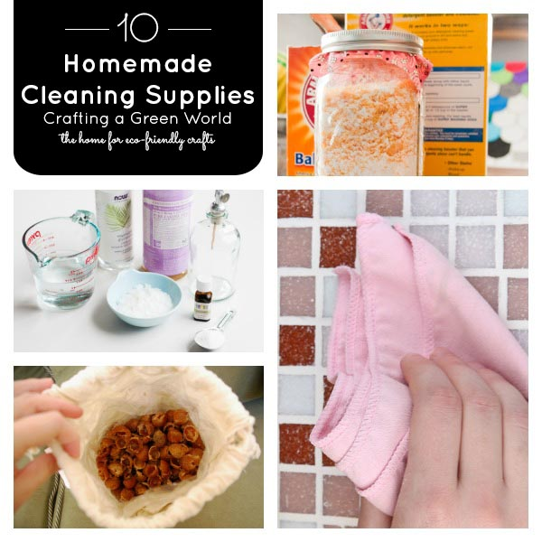 10 Homemade Cleaning Supplies