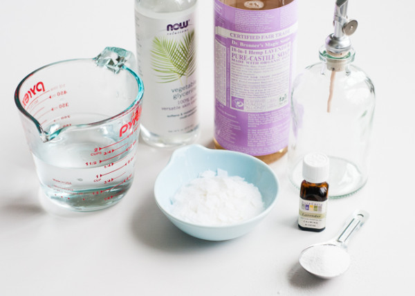 DIY Cleaning Supplies: Lavender Dish Soap