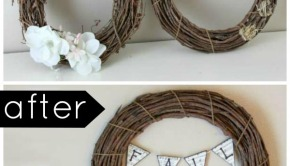Upcycled Fall Crafts