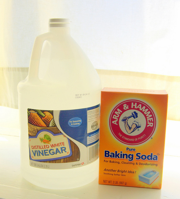 Green Cleaning Supplies: Drain Cleaner