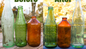 How to Clean Old Glass Bottles