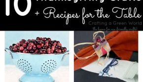 10 Thanksgiving Crafts and Recipes