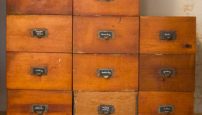 Antique Drawer Craft Storage System