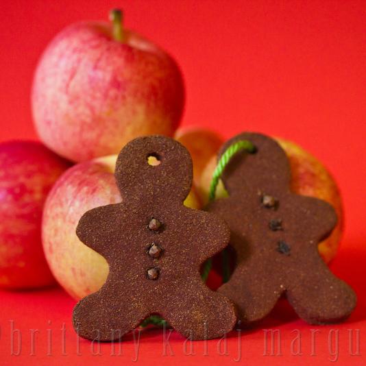 Easiest Holiday Ornament Ever: Cinnamon Gingerbread People