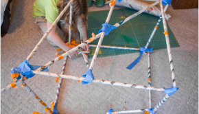 Cool Math Games: The Newspaper Structure Volume Challenge