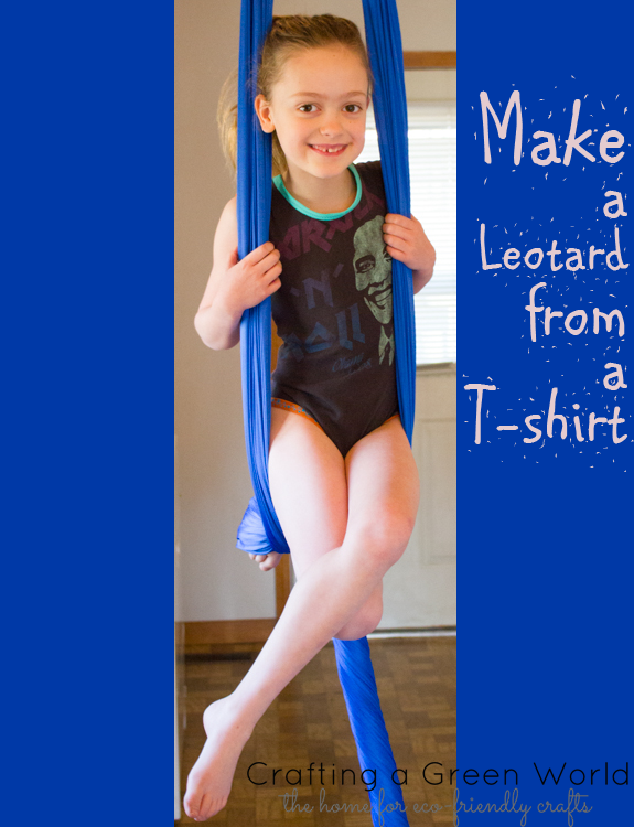 How to Make a Leotard from an Old T-Shirt