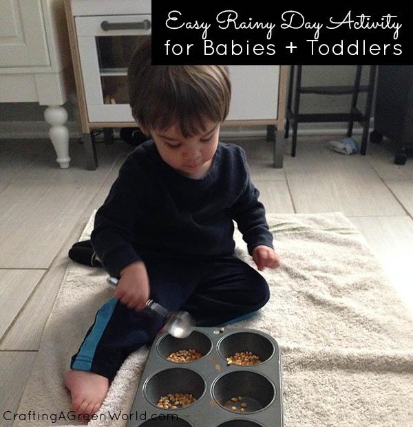 Rainy Day Activities: Raid Your Kitchen!