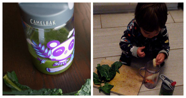 10 Rainy Day Activities for Toddlers: Make a Smoothie Together!