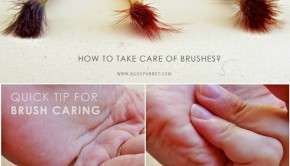Cleaning Paint Brushes without Harsh Chemicals