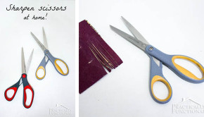 How to Sharpen Scissors with One Surprising Tool
