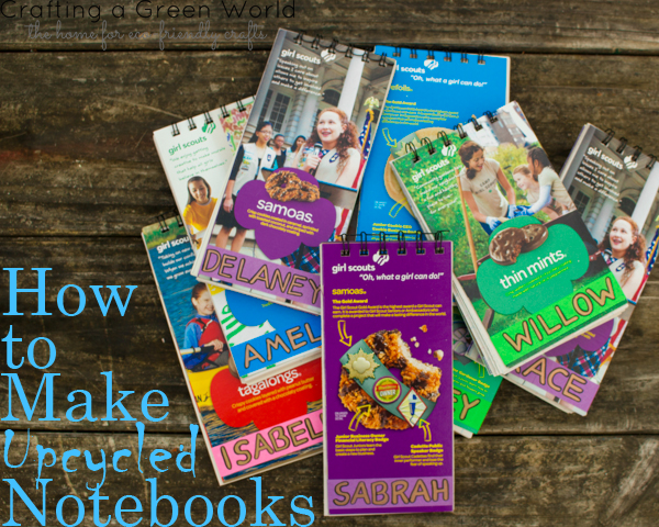 How to Make an Upcycled Notebook