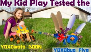 YOXOmoto Doon and YOXObug Flye