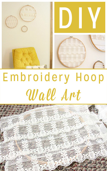 Do It Yourself Art: Do It Yourself Wall Art From Old Embroidery Hoops