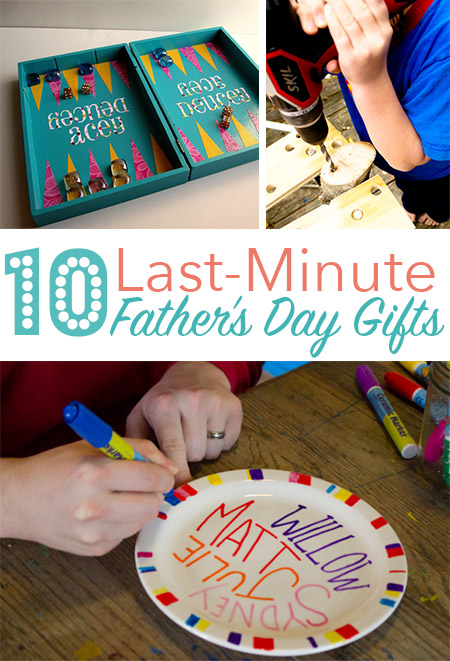 Father's Day is this Sunday, right? Dang it! Here are 10- last-minute Father's Day gifts that you can make just in time.