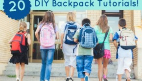 School will be in session before we know it! Create your own (or your child's) backpack this year with these amazing DIY backpack tutorials.