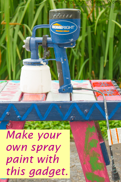 Why I use the HomeRight Finish Max Fine Finish Sprayer instead of canned spray paints, and so should you.