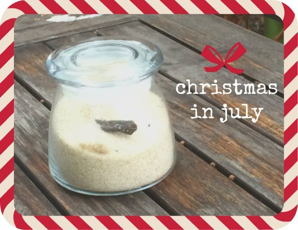 Homemade vanilla sugar is the easiest make-ahead present you'll ever whip up. It's the perfect Christmas in July project!