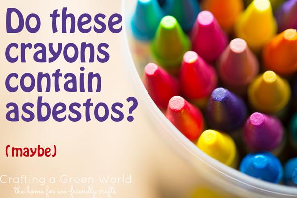 Asbestos Found in Crayons